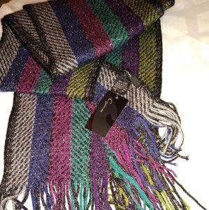 Cejon Multicolor Knit Neckwear Scarf